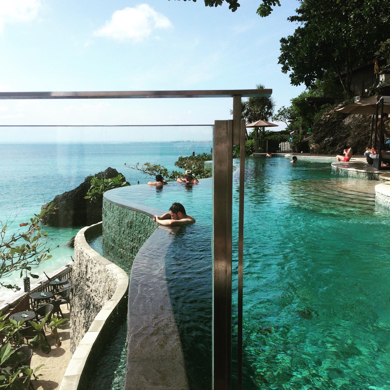 Ocean Beach Pool Ayana Resort Bali